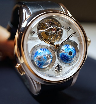 Montblanc Villeret Collection Tourbillon