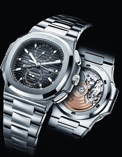 BaselWorld 2014 : Patek Philippe Nautilus Travel Time Chronograph Ref. 5990/1A